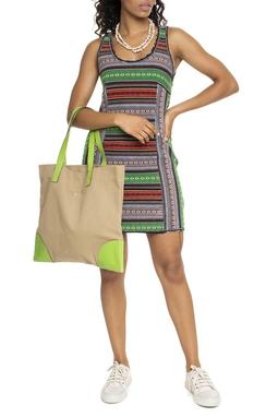 Vestido Estampa Étnica - DG15633