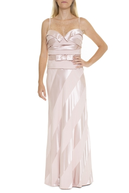 Vestido Cetim Rose - DG15423