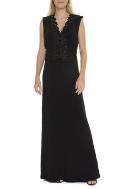 Vestido Longo Detalhe Bordado - DG15549