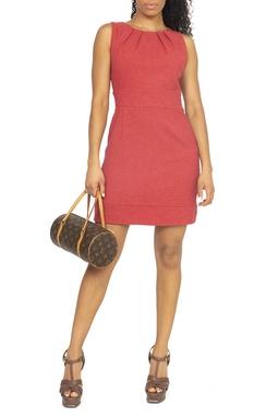 Vestido Vermelho Curto Regata - DG15076