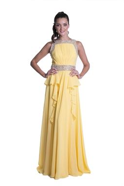 Vestido Ale Amarelo CLM