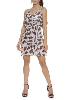 Vestido Saída De Praia Tigre - DG15558