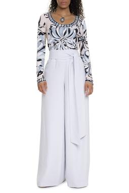 Calça Pantalona Gelo - DG15500