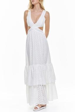 Vestido Laise Detalhe Vazado - 130437