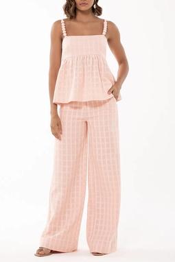 Calça Pantalona Cintura Alta - 130332