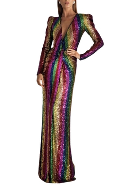 Vestido Rainbow Longo - 96451