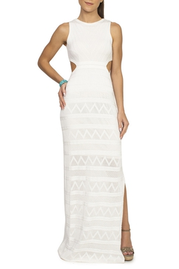 Vestido Tricot Branco - DG15088
