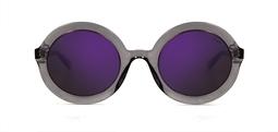 Rita solar cinza cristal purple mirror