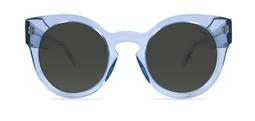 Leah solar azul cristal