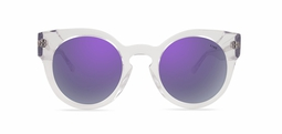 Leah solar cristal purple mirror