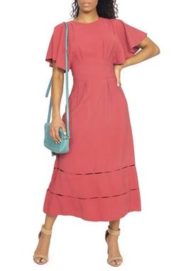 Vestido Rosa Antigo - DG15020