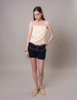 Shorts Malha Inglesa - Azul
