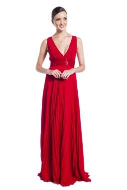 Vestido Madonna Vermelho CLM