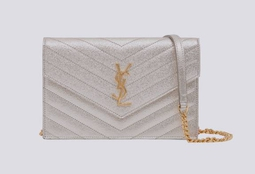Bolsa Envelope WOC Pale Gold Metallic IBG