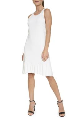 Vestido Branco Regata Curto - DG15761