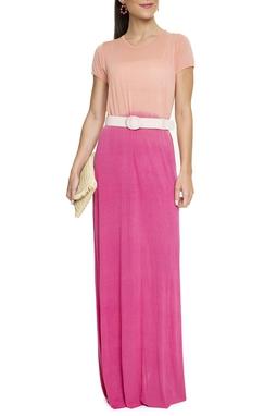 Vestido Longo Malha Tie-Dye - DG15662