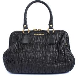 Bolsa Matelassê Preta - DG16685