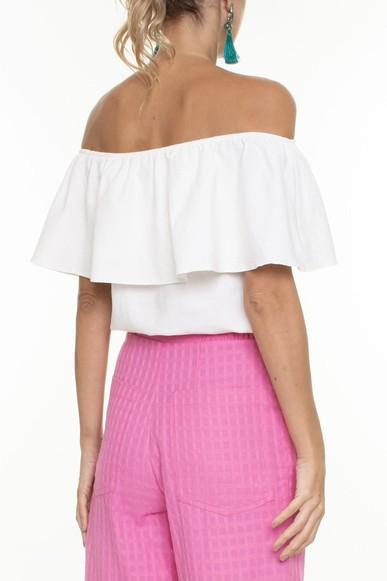 Bata Ombro A Ombro Flores Bordadas - DG16573 Curadoria Dress & Go