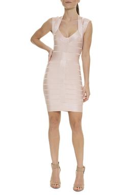 Vestido Bandagem Cavado - DG15938