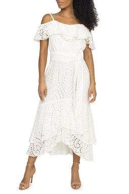 Vestido Branco De Laise - DG15425