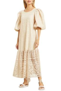 Vestido Midi Decote Costas - 140217