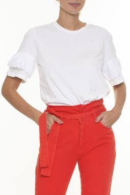 Camiseta Aplicação Mangas - DG16564
