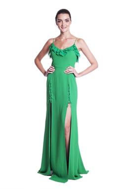 Vestido Lolla Verde CLM