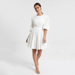 Vestido Pat Off White