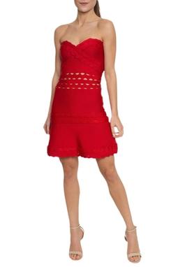Vestido Curto Bandagem TQC - DG14825