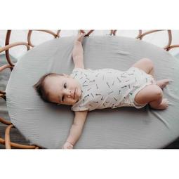 Body bebê regata micromodal alfinete