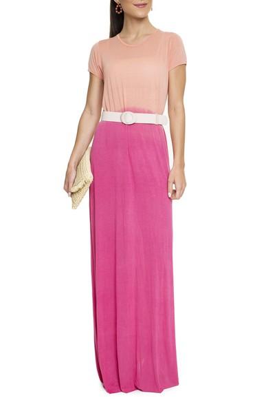 Vestido Longo Malha Tie-Dye - DG15662 Curadoria Dress & Go