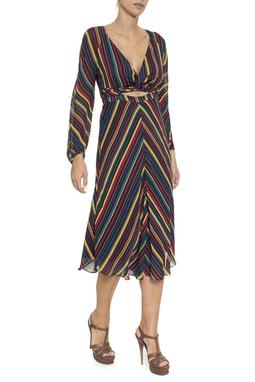Vestido Torcido Listra ML - DG16246