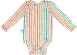 Body bebê manga longa micromodal Risca de Giz