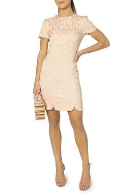 Vestido Rosê Estampado - DG15027