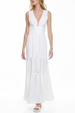Vestido Botoes - 130383