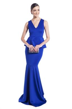 Vestido Nivea Azul Royal CLM