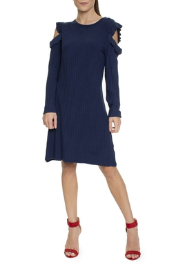 Vestido Curto Azul Marinho - DG15743