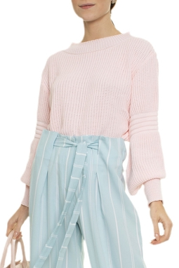 Suéter Tricot Rosê - DG16978