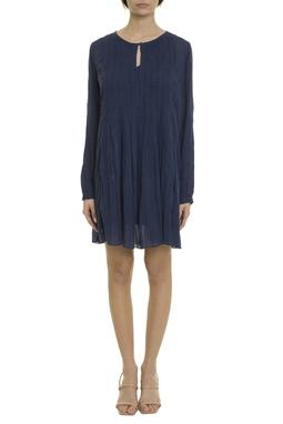 Vestido Curto Algodão Azul - DG20000