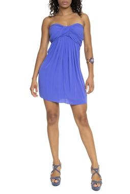 Vestido Azul Royal Costas Abertas - DG15470