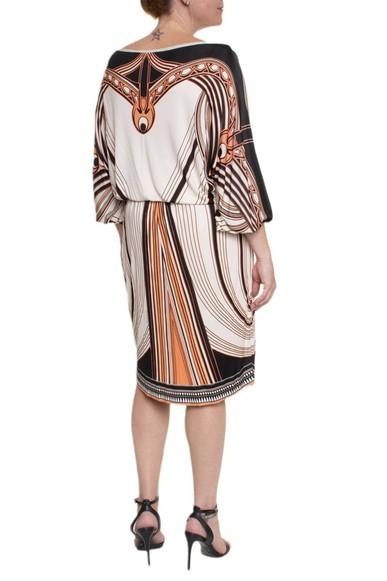 Vestido Midi Manga Longa - DG14828 Roberto Cavalli