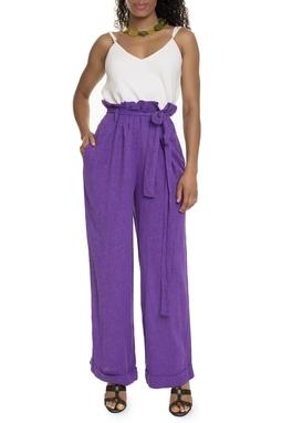 Calça Pantalona Roxa - DG15049