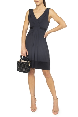 Vestido Curto Preto Faixa - DG15010