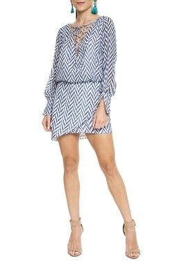 Vestido Estampa Geométrica - DG15499