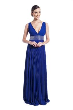 Vestido Madonna Azul CLM