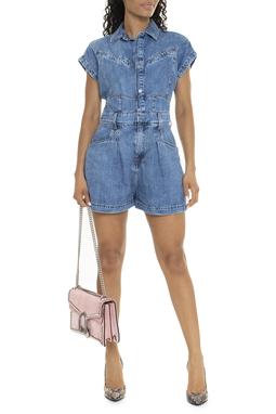 Macaquinho Utilitário Jeans - DG15871