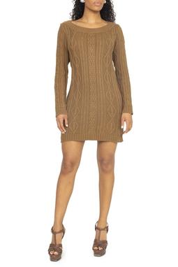 Vestido Tricot Caramelo ML - DG15310