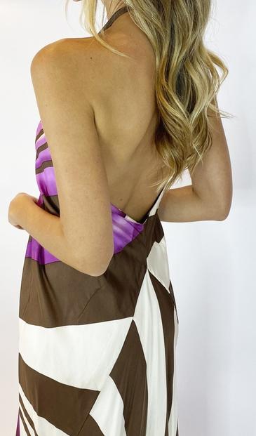 Vestido Estampado - BMD 11452 Nicole Miller