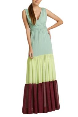 Vestido Longo Patch - 99098