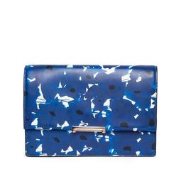 Bolsa Azul Estampada